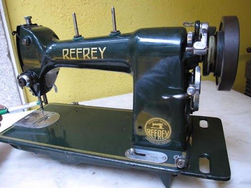 maquina de coser refrey